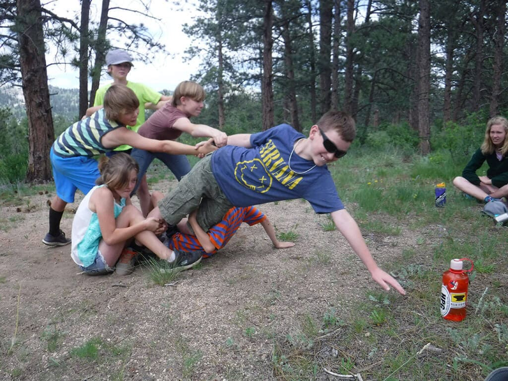 resilient children at no barriers summer camp