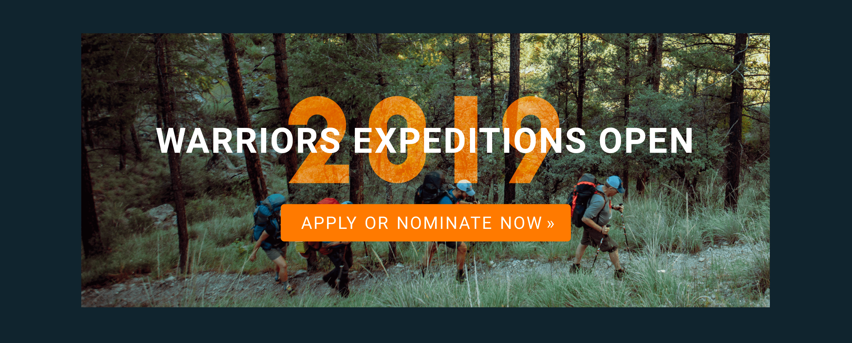 2019 Warriors Expeditions Launch