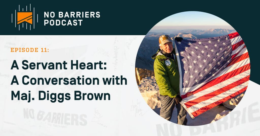 A Servant Heart, a conversation with Major Diggs Brown