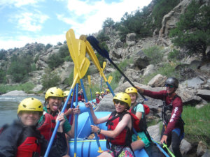 No Barriers Youth Rafting