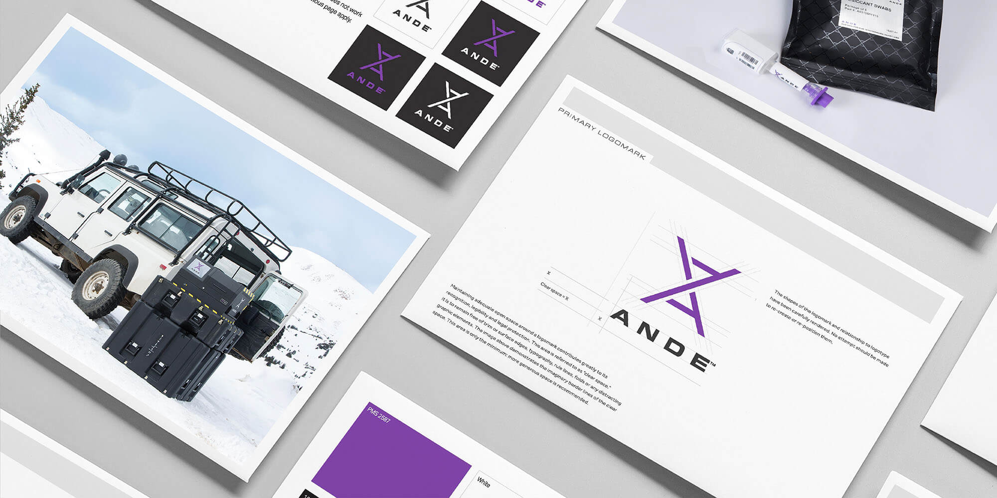 ANDE brand guidelines work