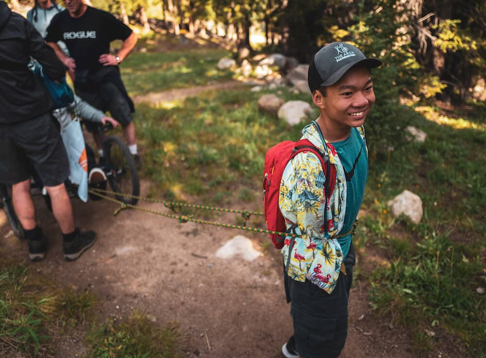 hiking for physical activities for special needs students