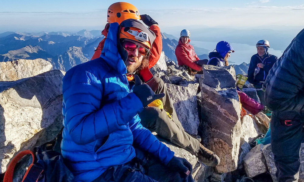 2019 no barriers warriors program highlights: summiting the grand tetons