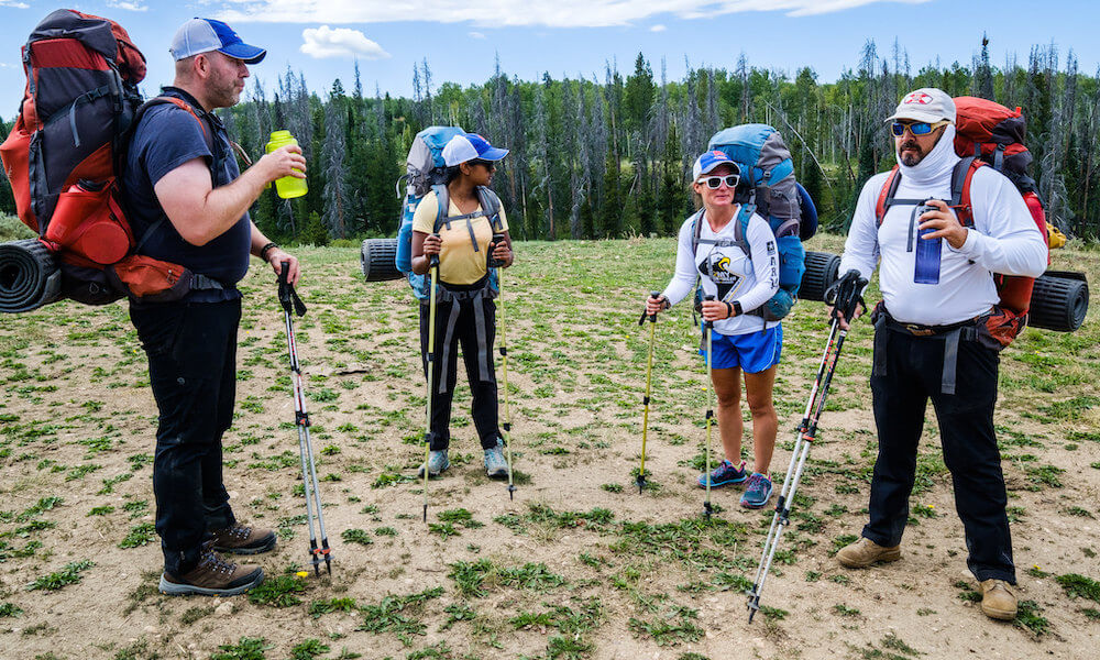 2019 no barriers warriors program highlights: backcountry hiking with other veterans with disabilities