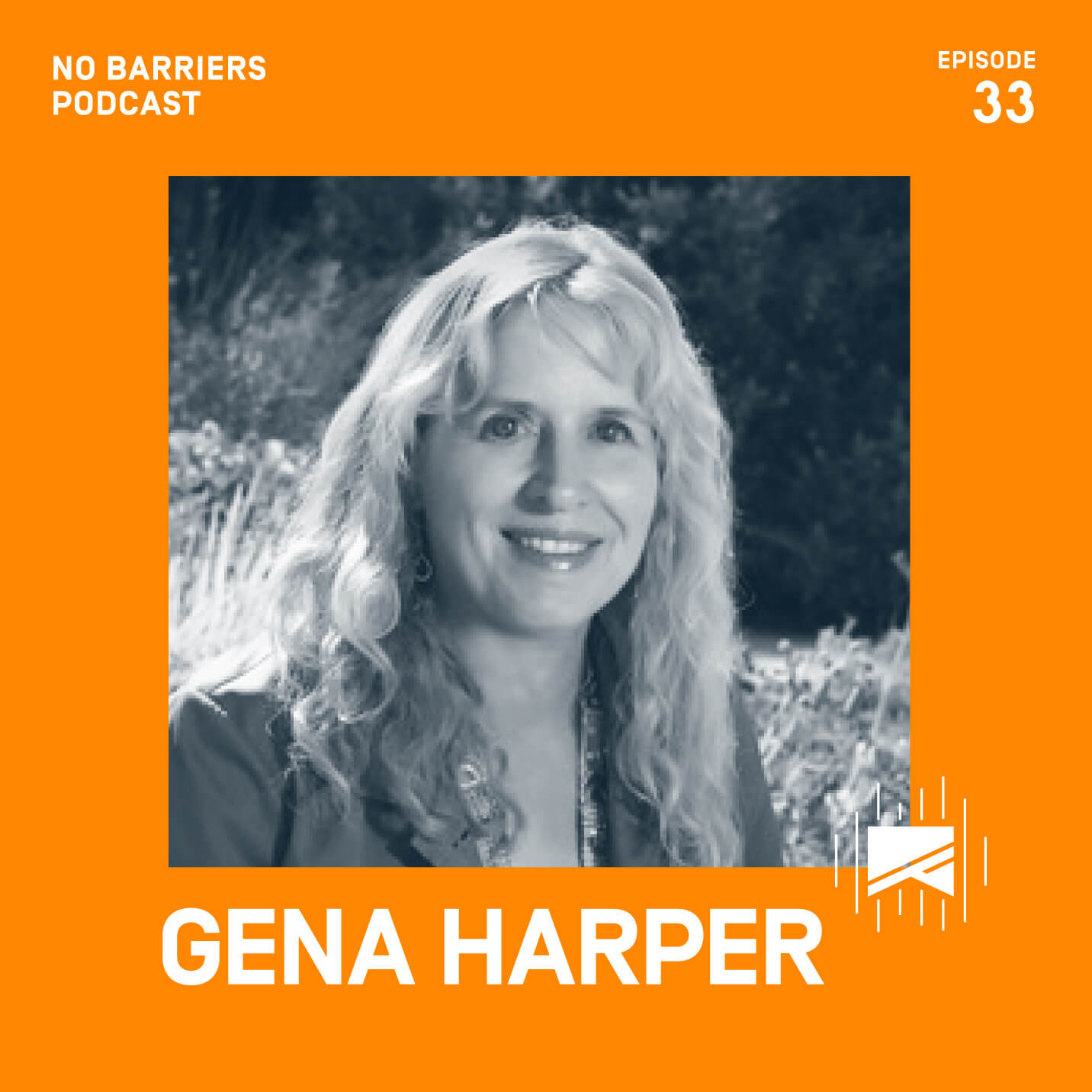 gena harper businesswoman and adventurer who is blind